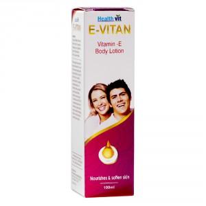 Buy Healthvit E-Vitan Vitamin E Lotion - Nykaa