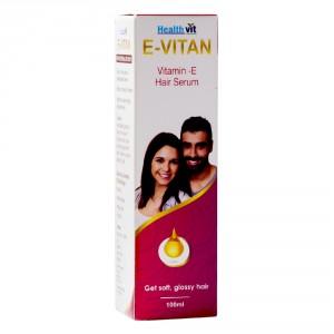 Buy Healthvit E-Vitan Vitamin E Hair Serum - Nykaa