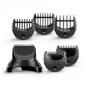 Buy Braun BT32 Series 3 Shave & Style Trimmer Head + 5 Comb Set - Nykaa