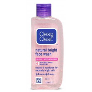 Buy Herbal Clean & Clear Natural Bright Face Wash - Nykaa