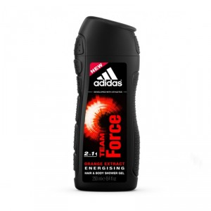Buy Adidas Team Force Shower Gel With Orange Extract - Nykaa