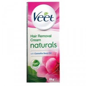 Buy Veet Naturals Hair Removal Cream with Camillia Seeds - Nykaa