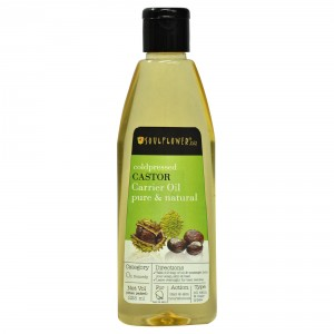 Buy Soulflower Coldpressed Castor Carrier Oil - Nykaa