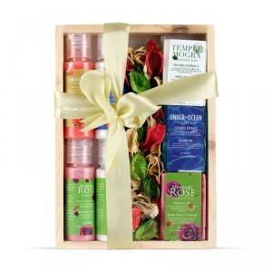 Buy Nyassa Wooden Box Gift Set - Nykaa