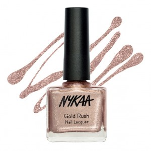 Buy Nykaa Gold Rush Nail Lacquer - Champagne Gold 122 - Nykaa