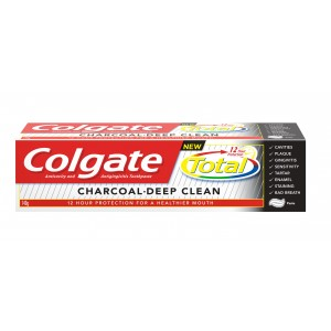 Buy Colgate Total Charcoal Deep Clean Toothpaste - Nykaa