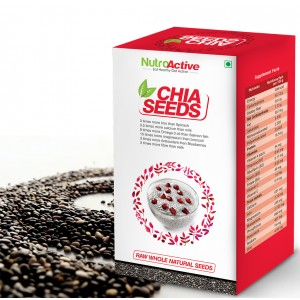 Buy NutroActive Chia Seeds - Nykaa