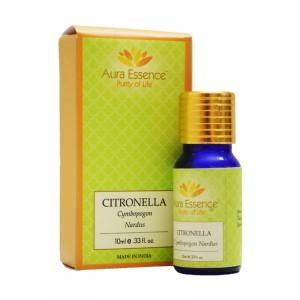 Buy Aura Essence Pure Citronella Essential Oil - Nykaa