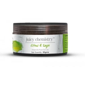 Buy Juicy Chemistry Citrus & Sage (Hand & Foot Scrub) - Nykaa