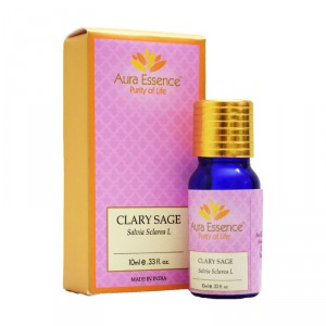 Buy Aura Essence Pure Clary Sage Essential Oil - Nykaa