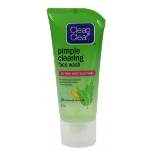 Buy Clean & Clear Pimple Clearing Face Wash - Nykaa