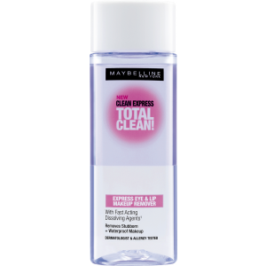 Buy Maybelline Clean Express Total Clean Makeup Remover - Nykaa