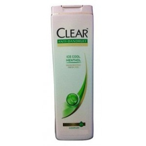 Buy Clear Anti Dandruff Nourishing Shampoo - Ice Cool Menthol - Nykaa