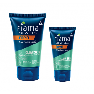 Buy Fiama Di Wills Men Clear Skin Gel Face Wash - Nykaa