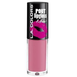 Buy L.A. Colors Pout Lipgloss Matte - Nykaa