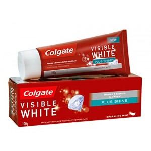 Buy Colgate Visible White Plus Shine Toothpaste - Nykaa
