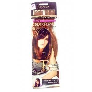 Buy Balmain Paris Color Flash 40Cm Hair Extension - Dark Red & Warm Caramel - Nykaa