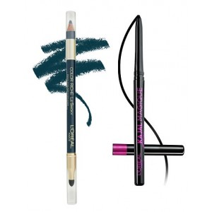 Buy L'Oreal Paris Color Riche Le Smoky Eyeliner - Stormy Sea 207 + Free Kajal Magique - Nykaa