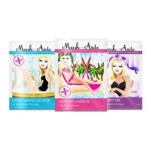 Buy MaskerAide I Don't Wanna Grow Up + Weather Warrior + Beauty Rest'ore Facial Sheet Mask (Pack of 3) - Nykaa