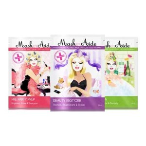 Buy MaskerAide Beauty Rest'ore +  Pre-Party Prep + Detox Diva Facial Sheet Mask (Pack of 3) - Nykaa