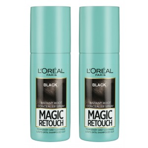 Buy L'Oreal Paris Magic Retouch Instant Root Concealer - 1 Black Combo - Nykaa
