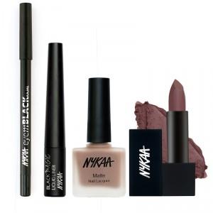 Buy Nykaa Divine Mercy Eyes Lips And Nails Combo - Nykaa