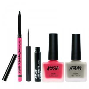 Buy Nykaa Nothing Above You! Eyes And Nails Combo - Nykaa