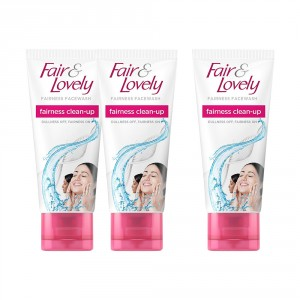 Buy Fair & Lovely Clean Up Fairness Facewash (Buy 2 Get 1 Free) - Nykaa