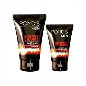 Buy Ponds Men Energy Charge Face Wash 100gm + Free 50gm - Nykaa