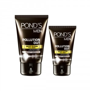 Buy Ponds Men Pollution Out Face Wash + Free 50gm - Nykaa