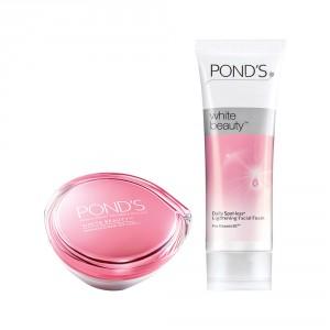 Buy Ponds White Beauty SPF 15 PA Fairness Cream + Get Free Daily Spotless Lightening Facial Foam 50gm - Nykaa