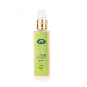 Buy Biobloom Aloe Vera Neem Extract Bergamot Face Wash - Nykaa