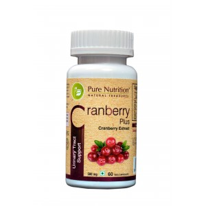 Buy Pure Nutrition Cranberry Plus 60 Capsules - Nykaa