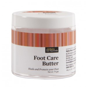 Buy Bipha Ayurveda Foot Care Massage Butter - Nykaa