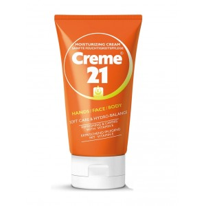 Buy Creme 21 Hand Face and Body Moisturizing Cream with Vitamin E - Nykaa
