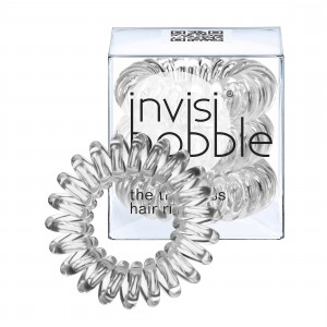 Buy Herbal Invisibobble Hair Ring - Crystal Clear - Pack Of 3 - Nykaa