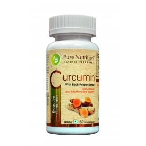 Buy Pure Nutrition Curcumin 60 Capsules - Nykaa