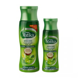 Buy Dabur Vatika Enriched Coconut Hair Oil + Get Free Vatika Enriched Coconut Hair Oil (75ml) - Nykaa