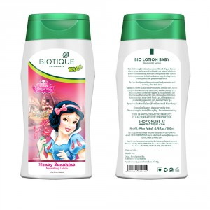 Buy Biotique Disney Baby Girl Bio Honey Sunshine Nourishing Lotion - Nykaa