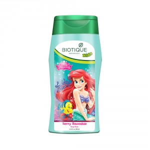 Buy Biotique Disney Baby Girl Bio Berry Smoothie Body Wash - Nykaa
