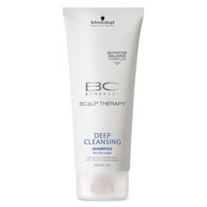 Buy Schwarzkopf Bonacure Deep Cleansing Shampoo - Nykaa