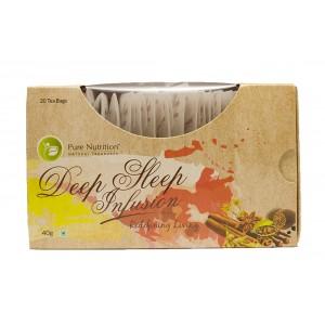 Buy Pure Nutrition Deep Sleep Infusion Tea Bags - Nykaa