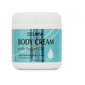 Buy Delon Argan Oil Body Cream  - Nykaa