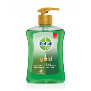 Buy Dettol Gold Liquid Hand Wash Daily Clean - Nykaa