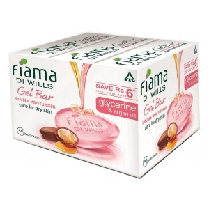 Buy Fiama Di Wills Double Moisturiser Soap - Set Of Three - Nykaa