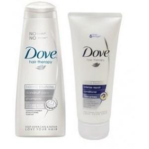 Buy Dove Dandruff Care Shampoo With Damage Solution + Free Dove Intense Repair Conditioner (75ml) - Nykaa