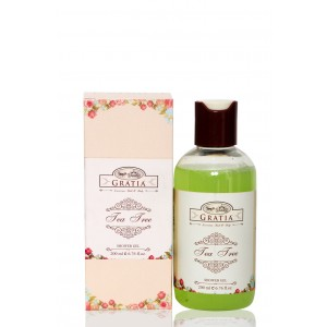 Buy Gratia Tea Tree Shower Gel - Nykaa