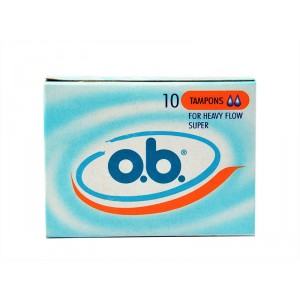 Buy O.B. Tampons Super - Nykaa