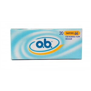 Buy O.B. Tampons Regular - Nykaa