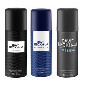 Buy David Beckham Pack Of 3 - Essence, Classic And Classic Blue - Nykaa